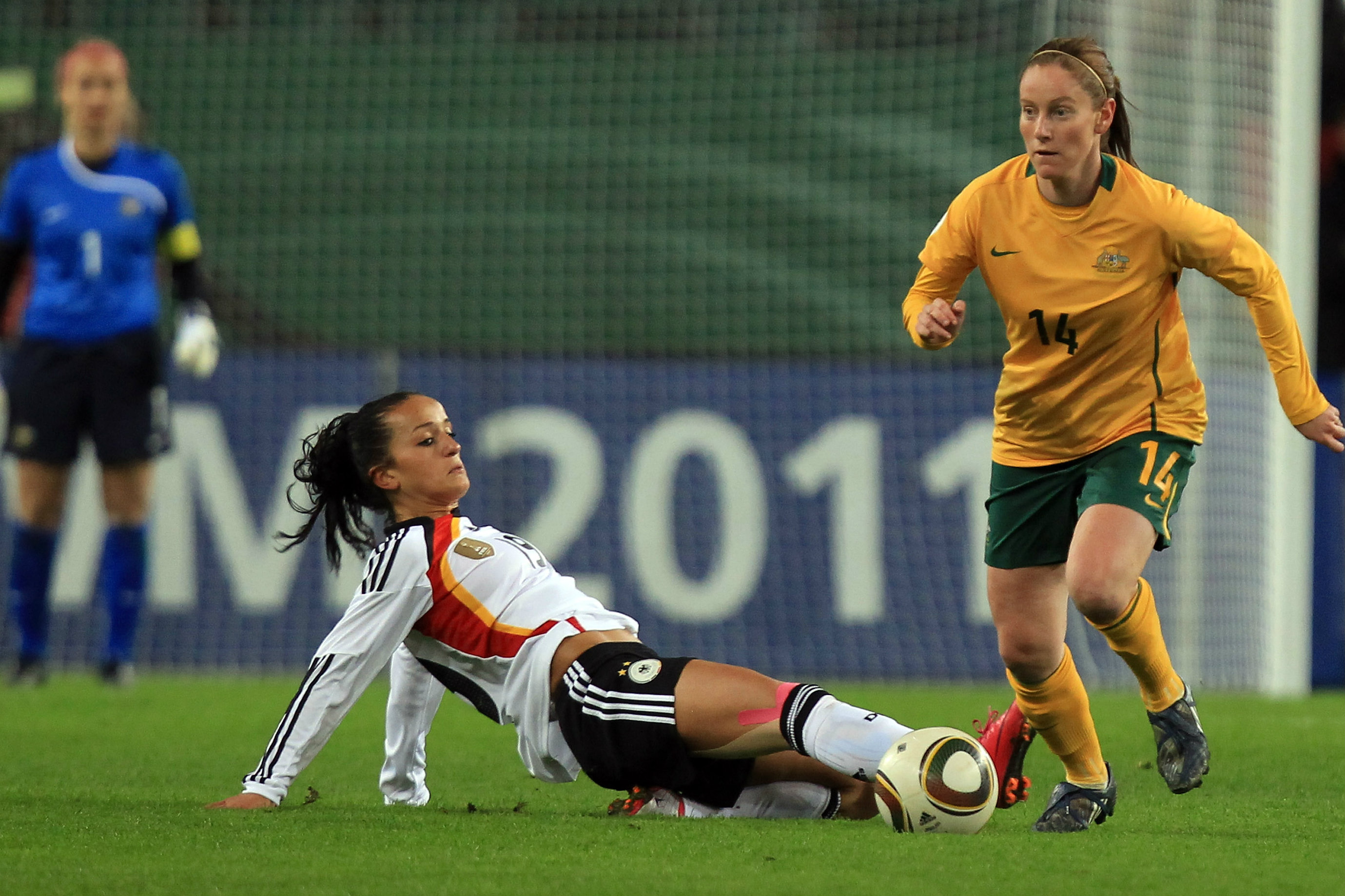 Collette McCallum helped set the current standard for the Westfield Matildas
