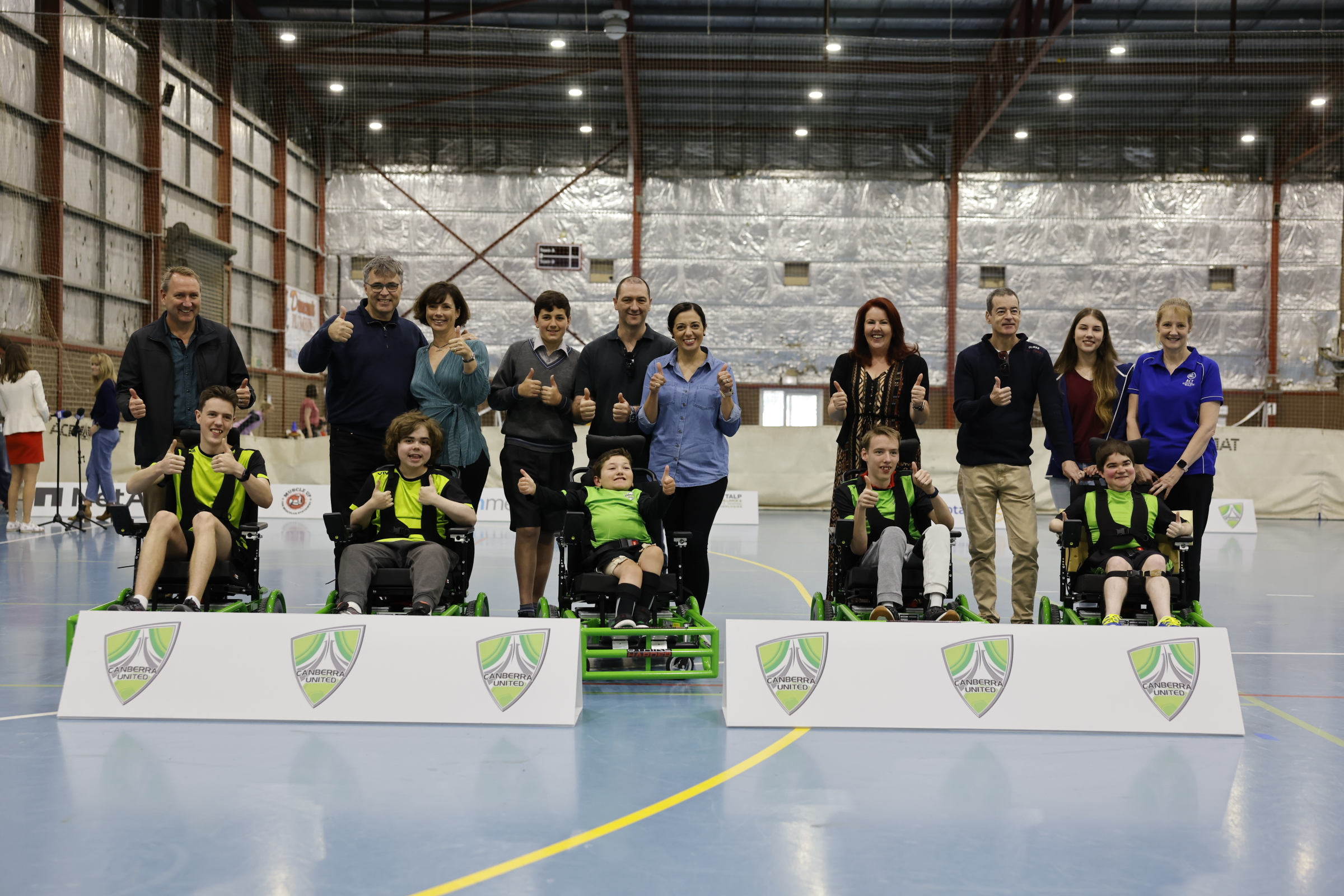 Canberra United powerchair 3