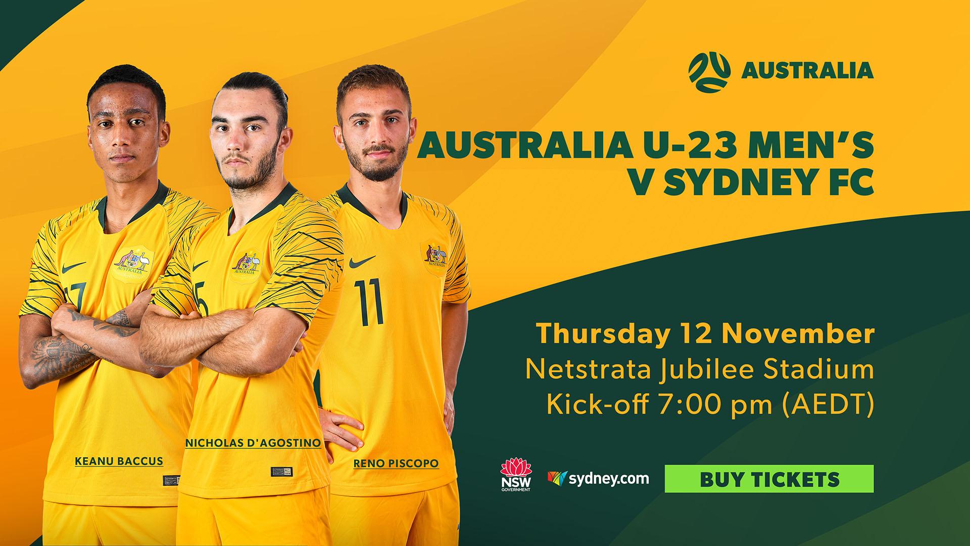 Sydney FC 1920 x U23