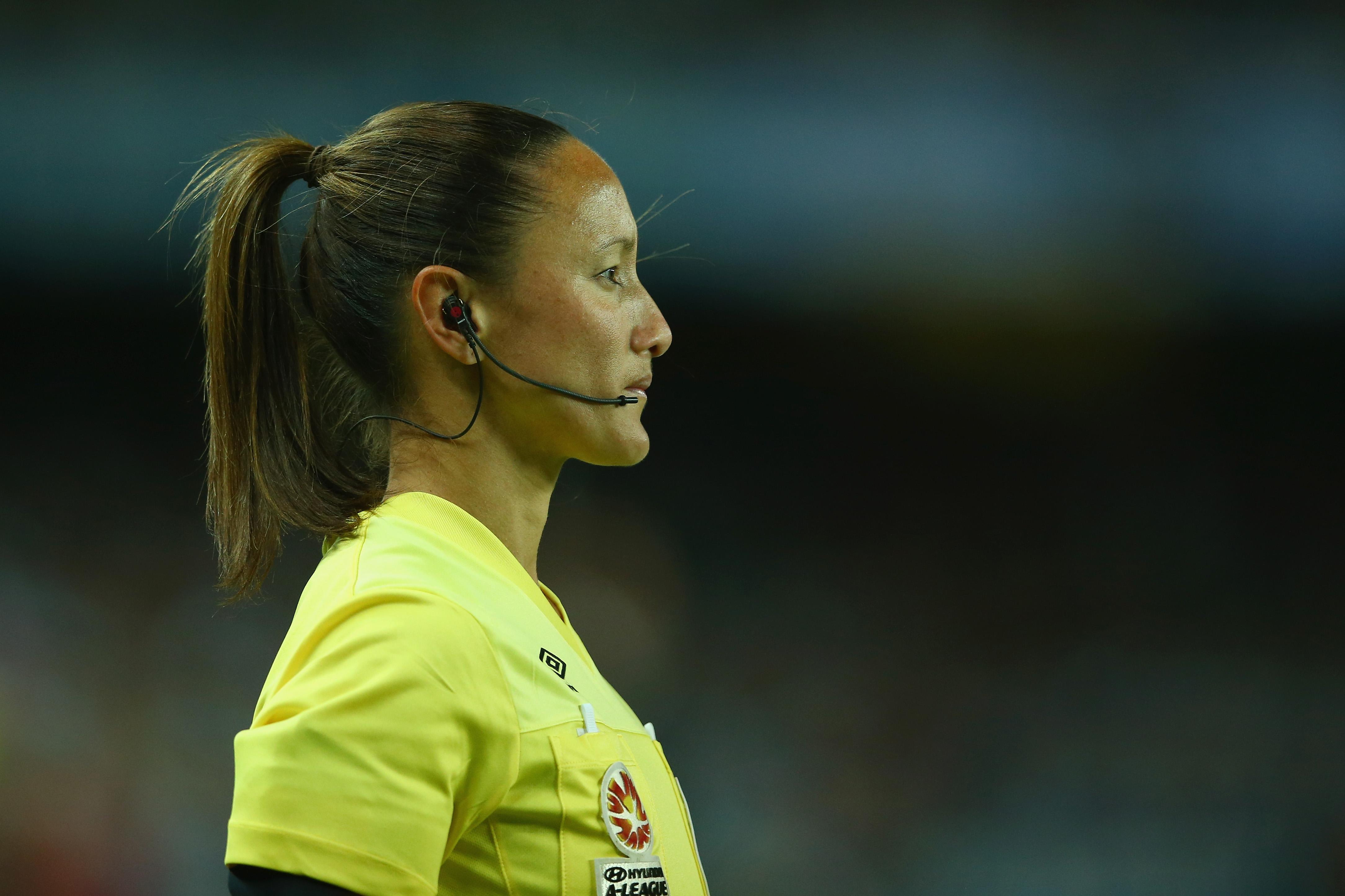 Sarah Ho referee