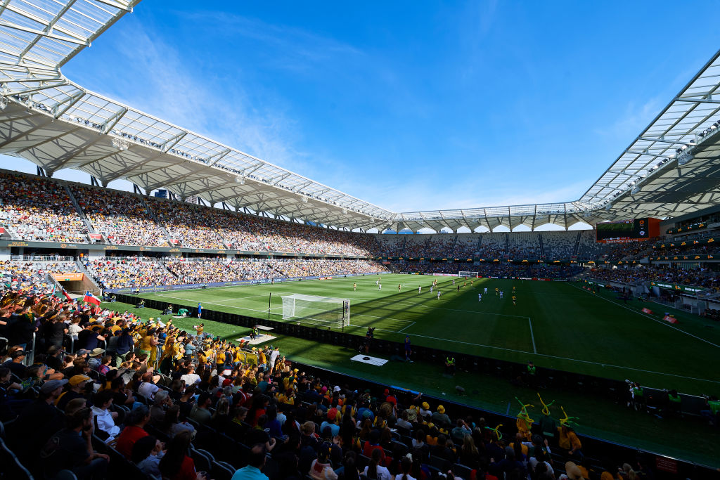 20,029 fans turned out at Bankwest Stadium in Sydney on 9 November to support the Green & Gold in a friendly match against Chile