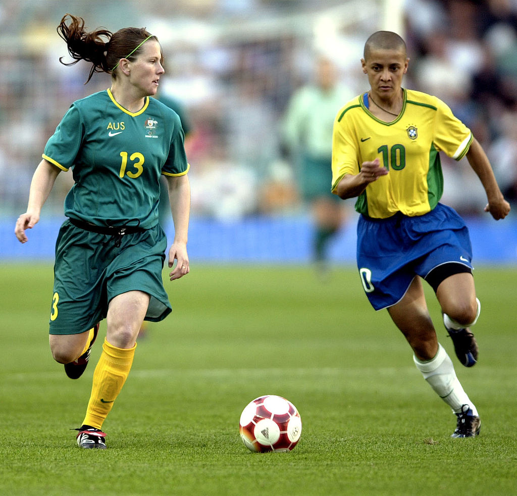 Matildas v Brazil at the 2000 Olympic Games in Sydney