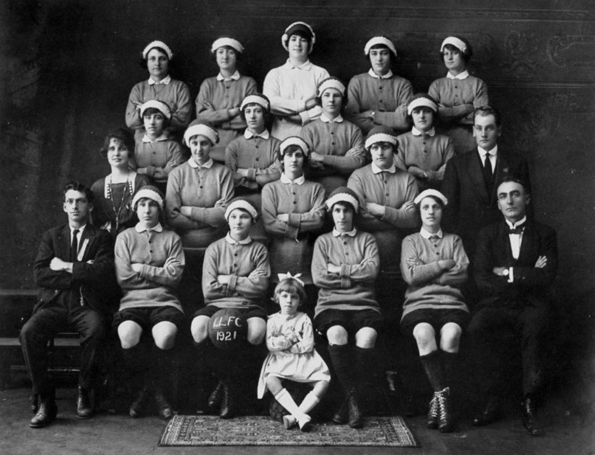 Latrobe Ladies FC in 1921
