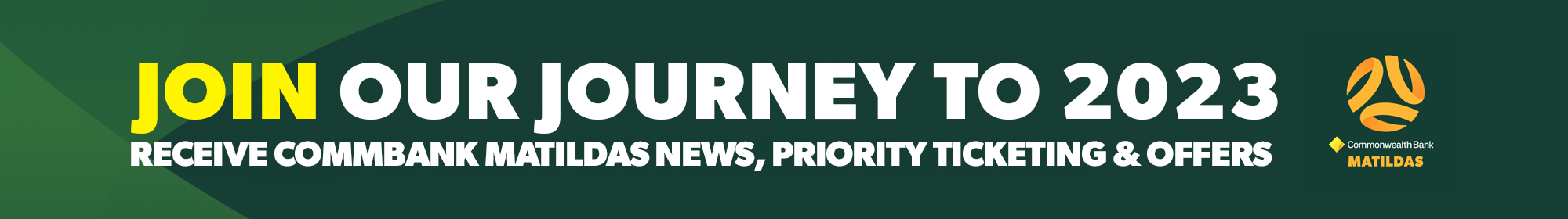 Journey to 2023 - Thin Banner