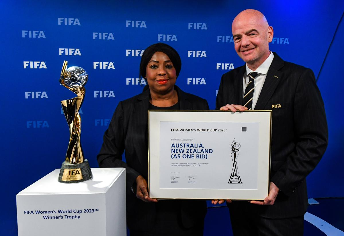 FIFA awards 'As One bid' the winners for 2023 tournament