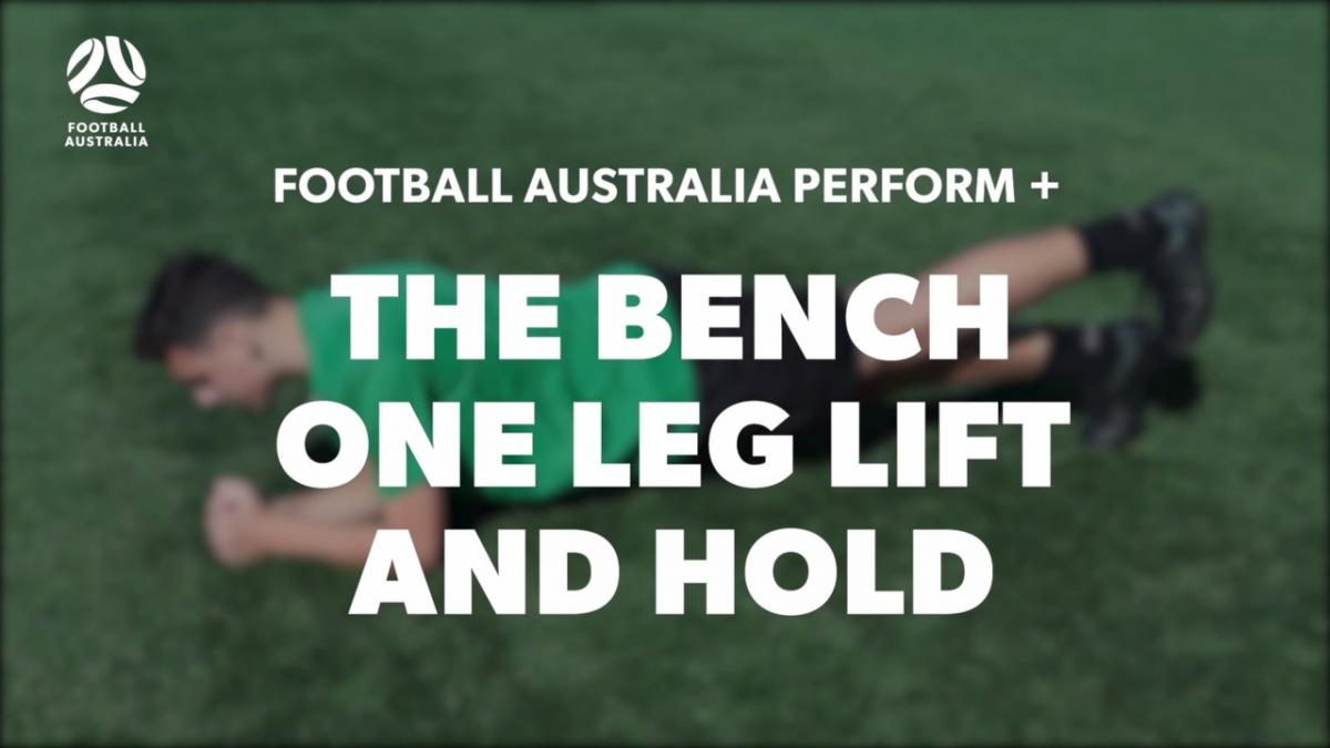 THE BENCH - ONE LEG LIFT AND HOLD (Level 3 Performace)