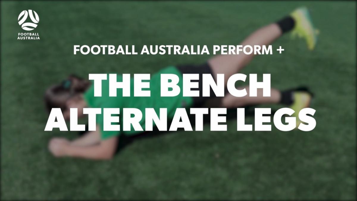 THE BENCH - ALTERNATE LEGS (Level 2 Performance)