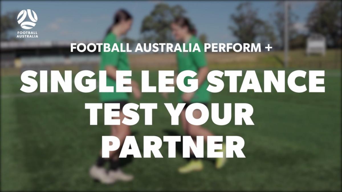 SINGLE LEG STANCE - TEST YOUR PARTNER (Level 3 Performance)