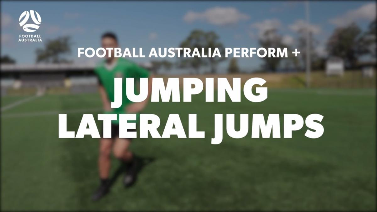 JUMPING - LATERAL JUMPS (Level 2 Performance)