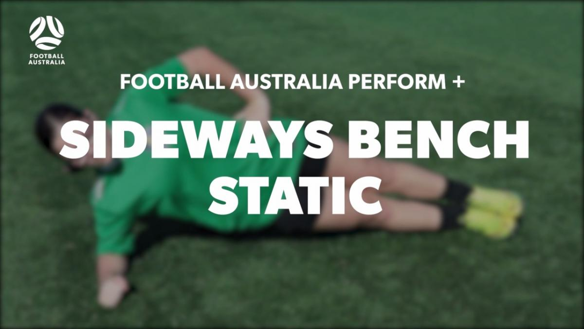 SIDEWAYS BENCH - STATIC (Level 1 Performance)