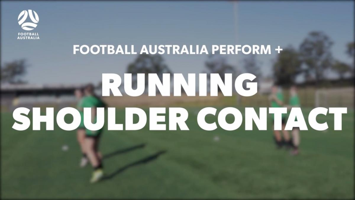 RUNNING - SHOULDER CONTACT (Warm Up)