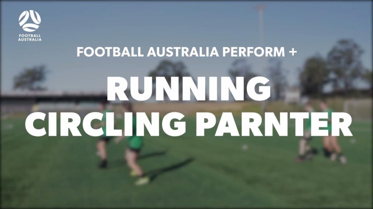 RUNNING - CIRCLING PARTNER (Warm Up)