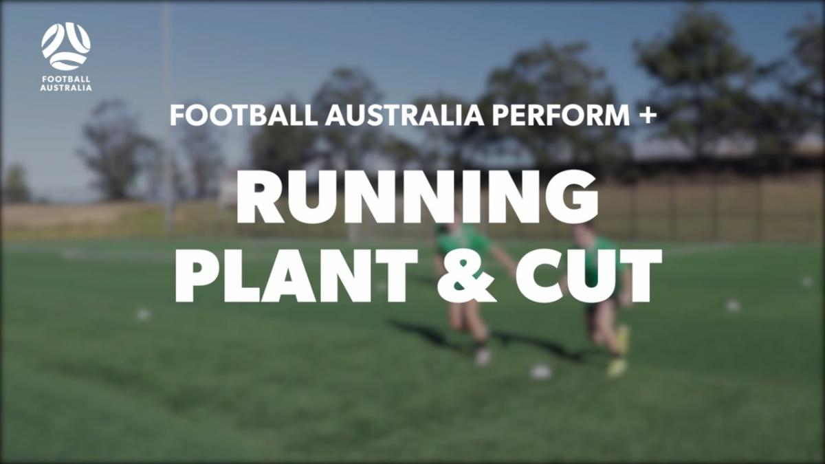 RUNNING - PLANT AND CUT (Warm Up)