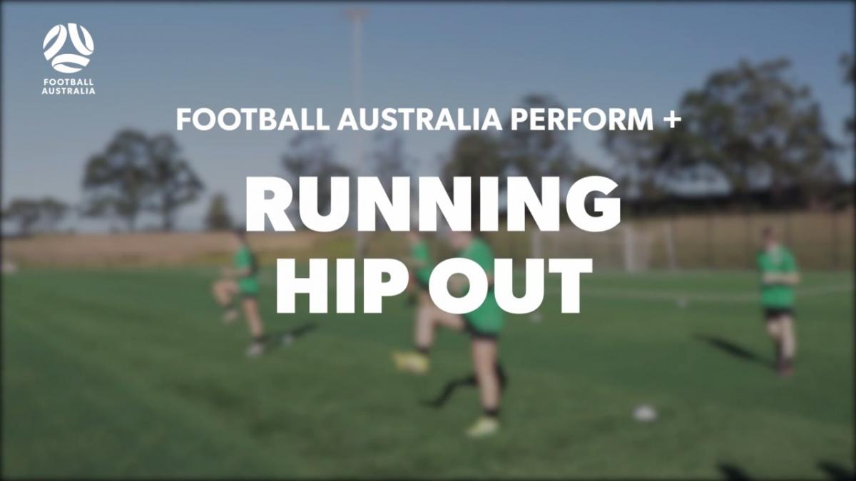 RUNNING - HIP OUT (Warm Up)