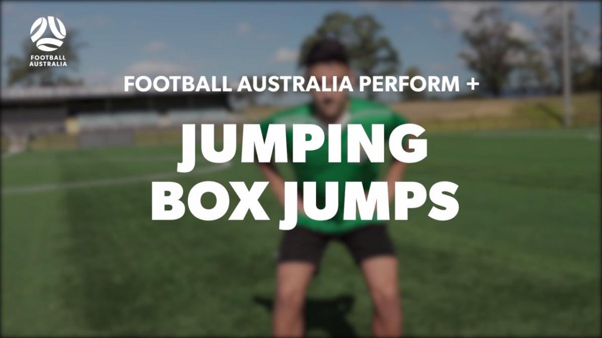 JUMPING - BOX JUMPS (Level 3)