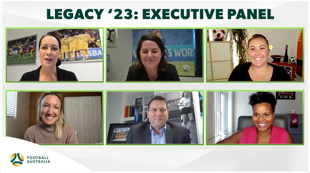 Legacy '23 - Executives Panel - Football's change agents