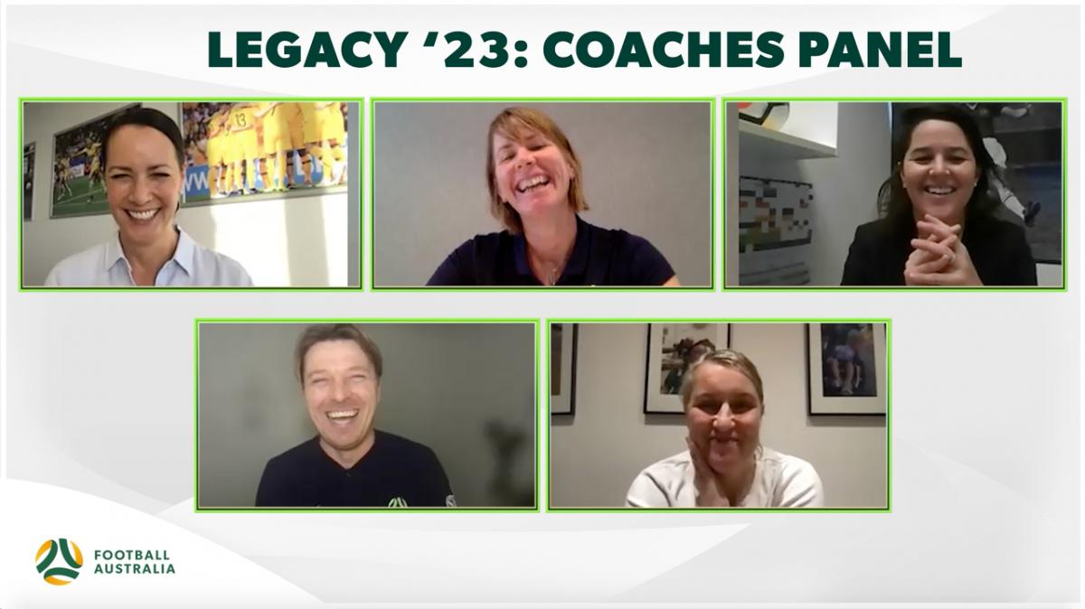 Legacy '23 - Coaches Panel - Leadership in the modern era