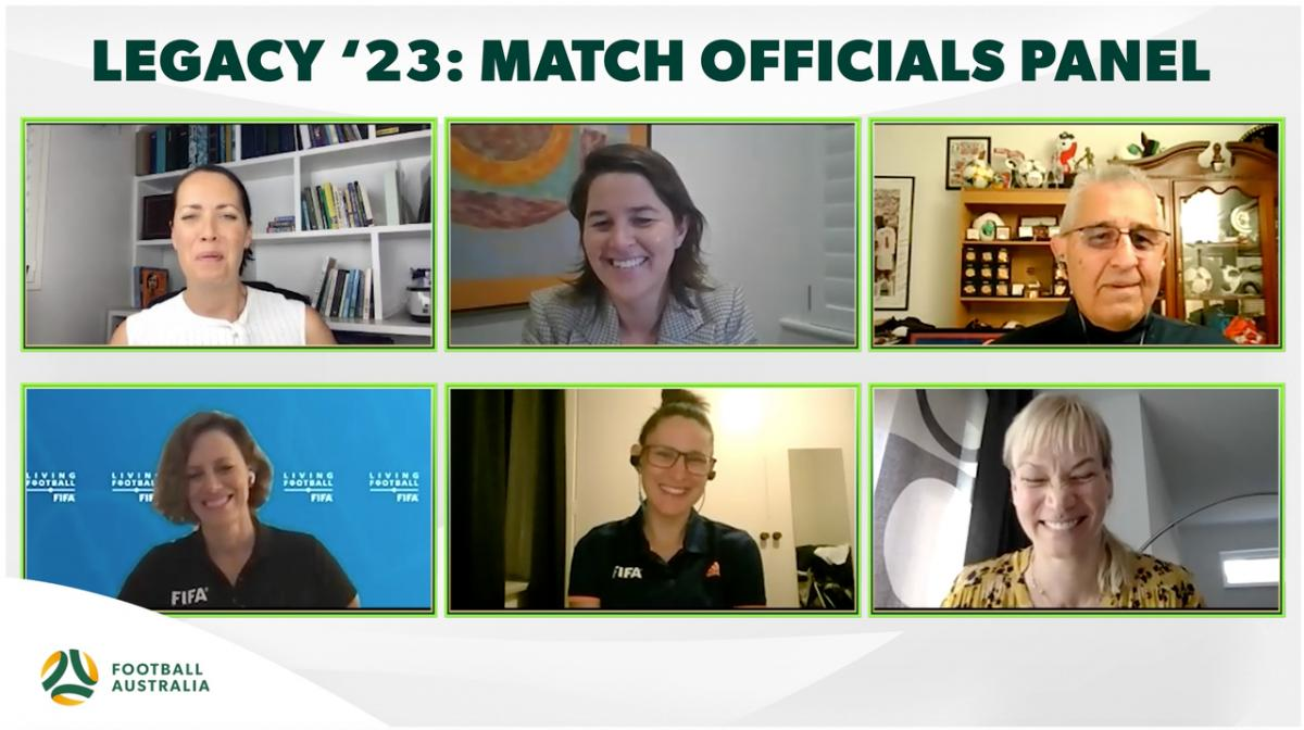 Legacy '23 - Match Officials Panel - History makers and game changers