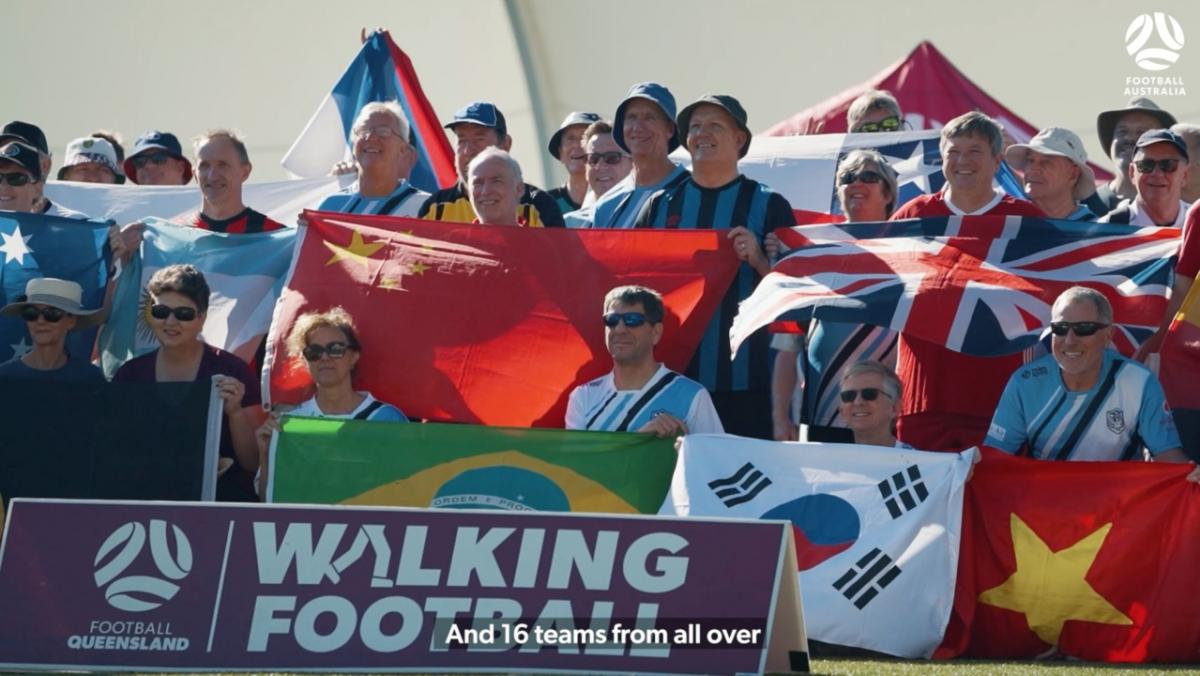 Football Queensland host Walking Football tournament