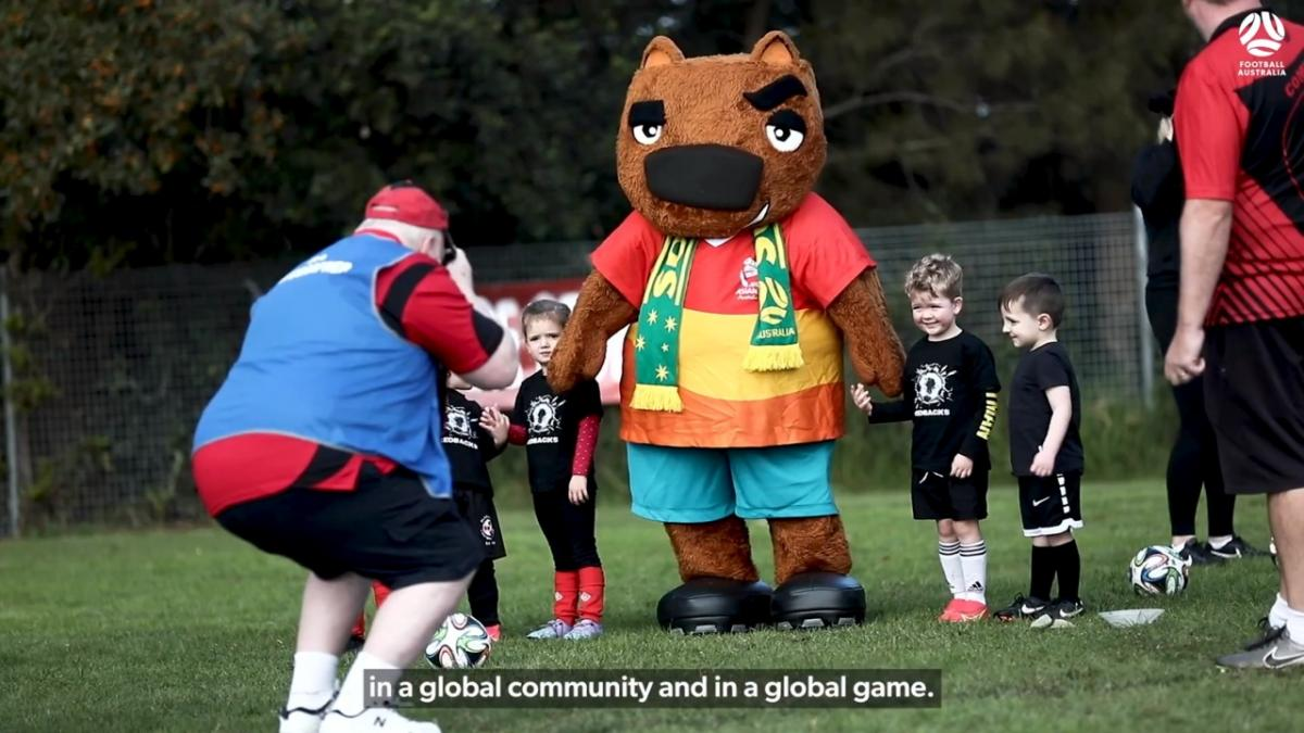 Football Australia celebrate AFC Grassroots Day 2021 with Blaxland FC