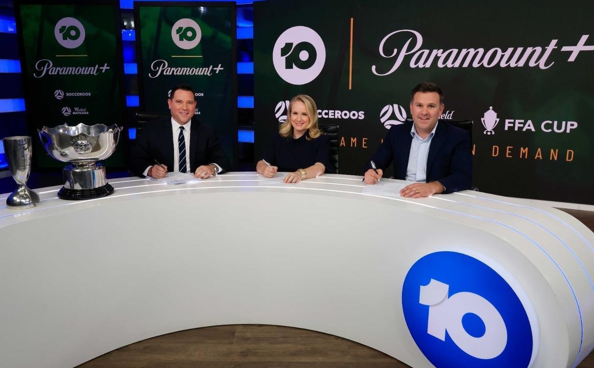Behind the scenes: Football Australia x 10 ViacomCBS broadcast announcement
