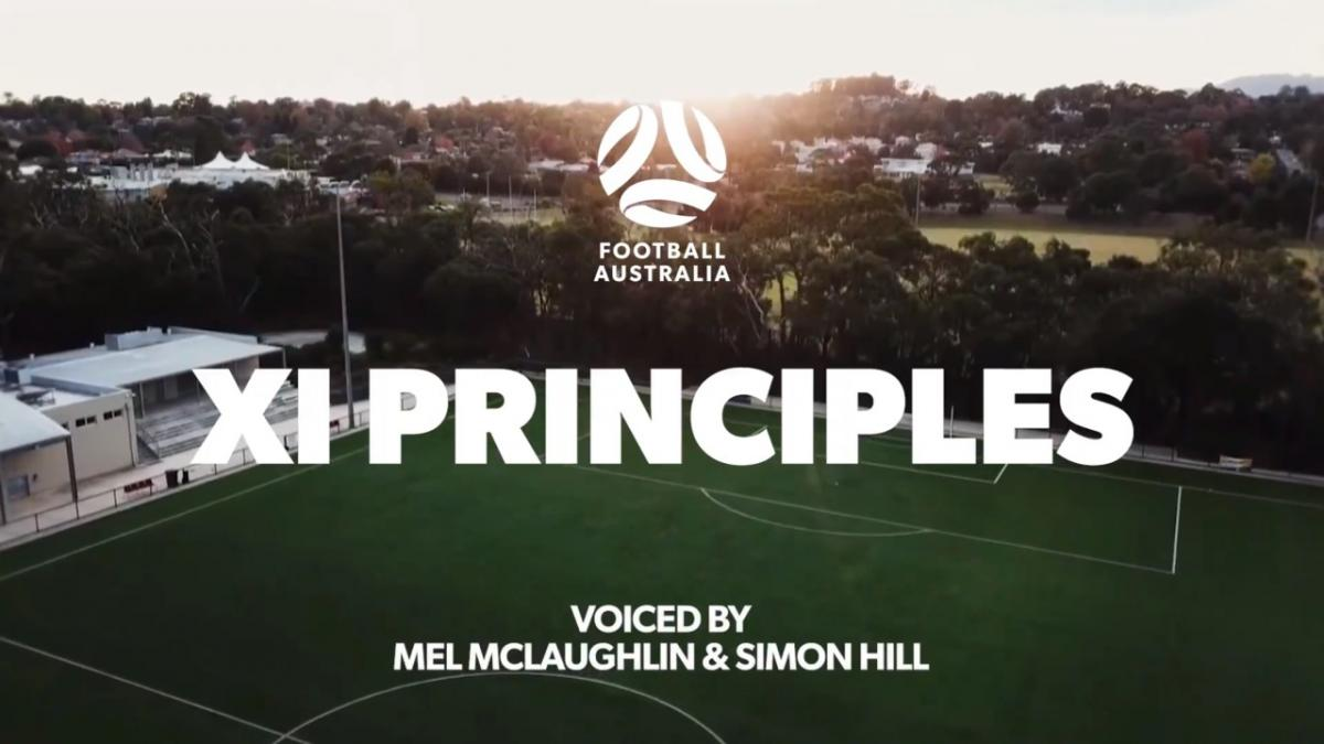 XI Principles for the future of Australian football