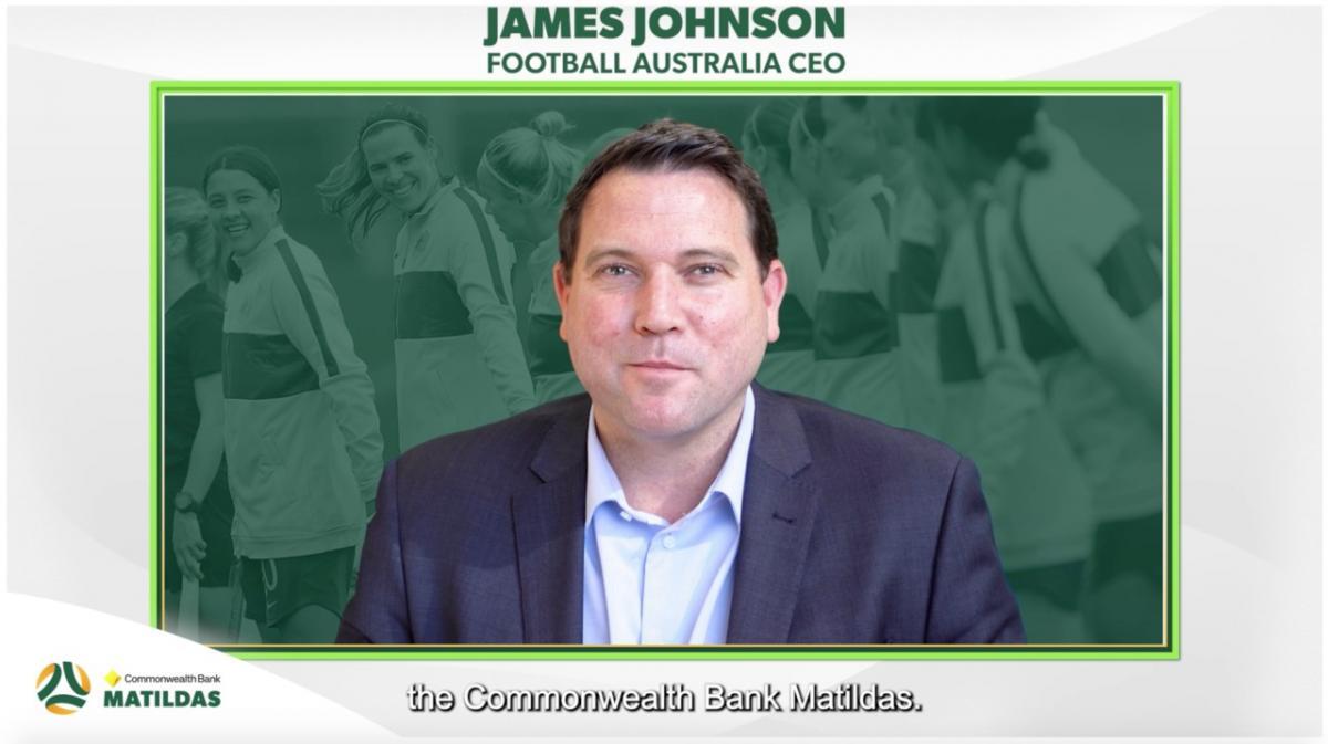 Football Australia CEO James Johnson welcomes Commonwealth Bank to the Australian Football Family