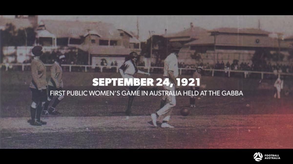 Celebrating the last 100 years of women's football in Australia