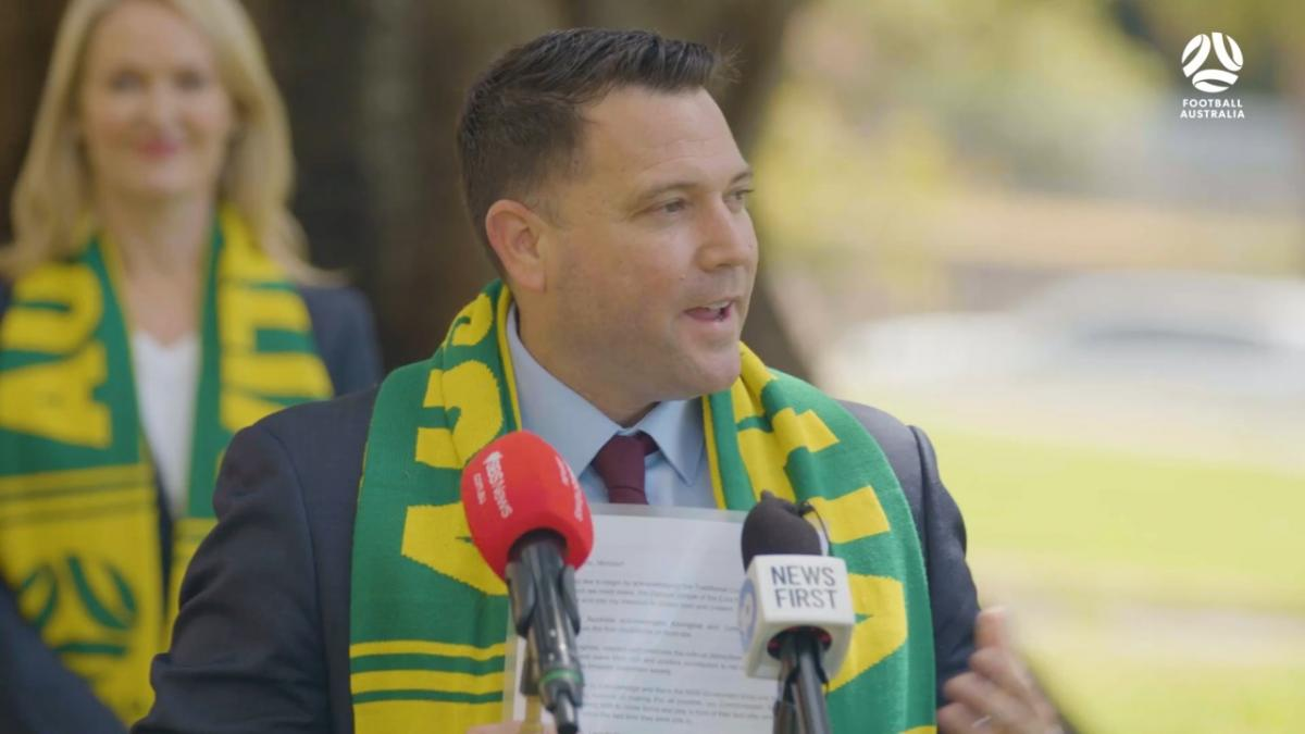 Press conference: Healthcare workers rewarded with tickets to CommBank Matildas mega matches