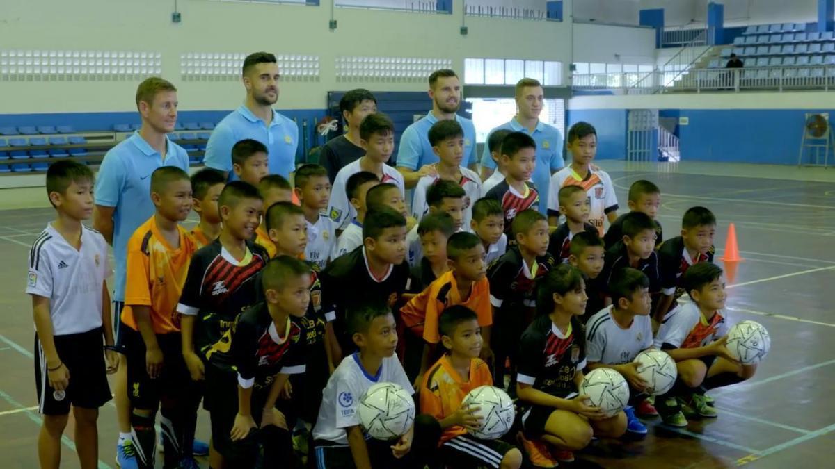 Socceroos Skills Clinic - Lumpini, Bangkok, Thailand