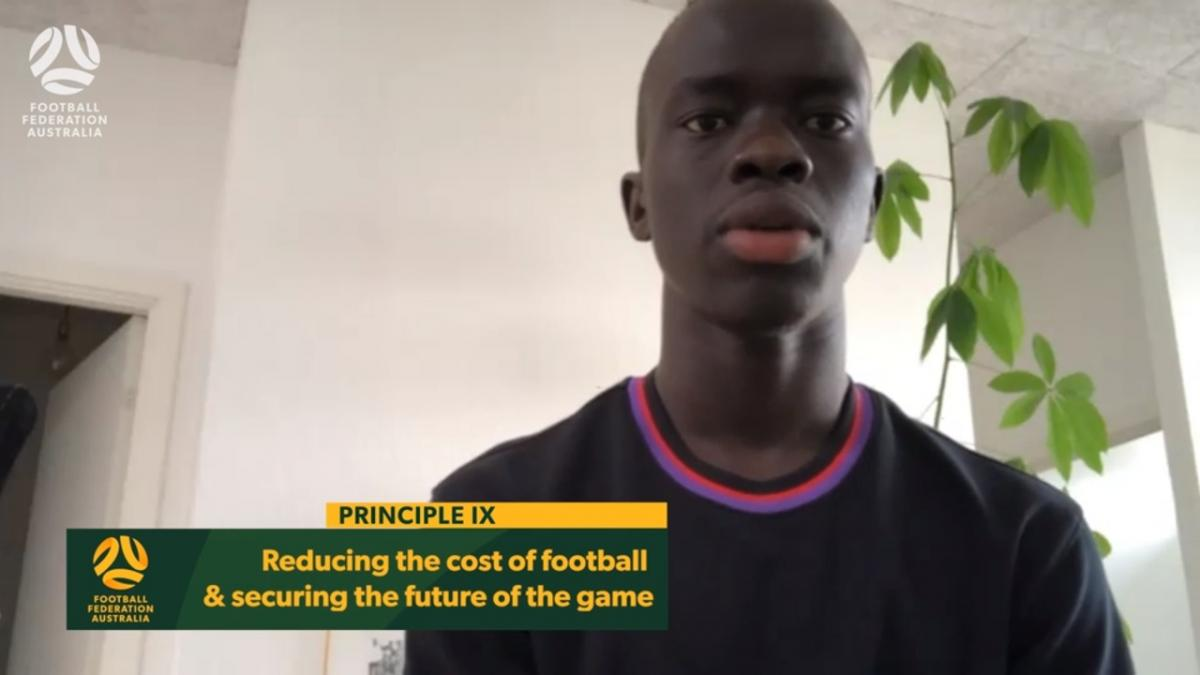 Principle IX - Reducing the cost of football