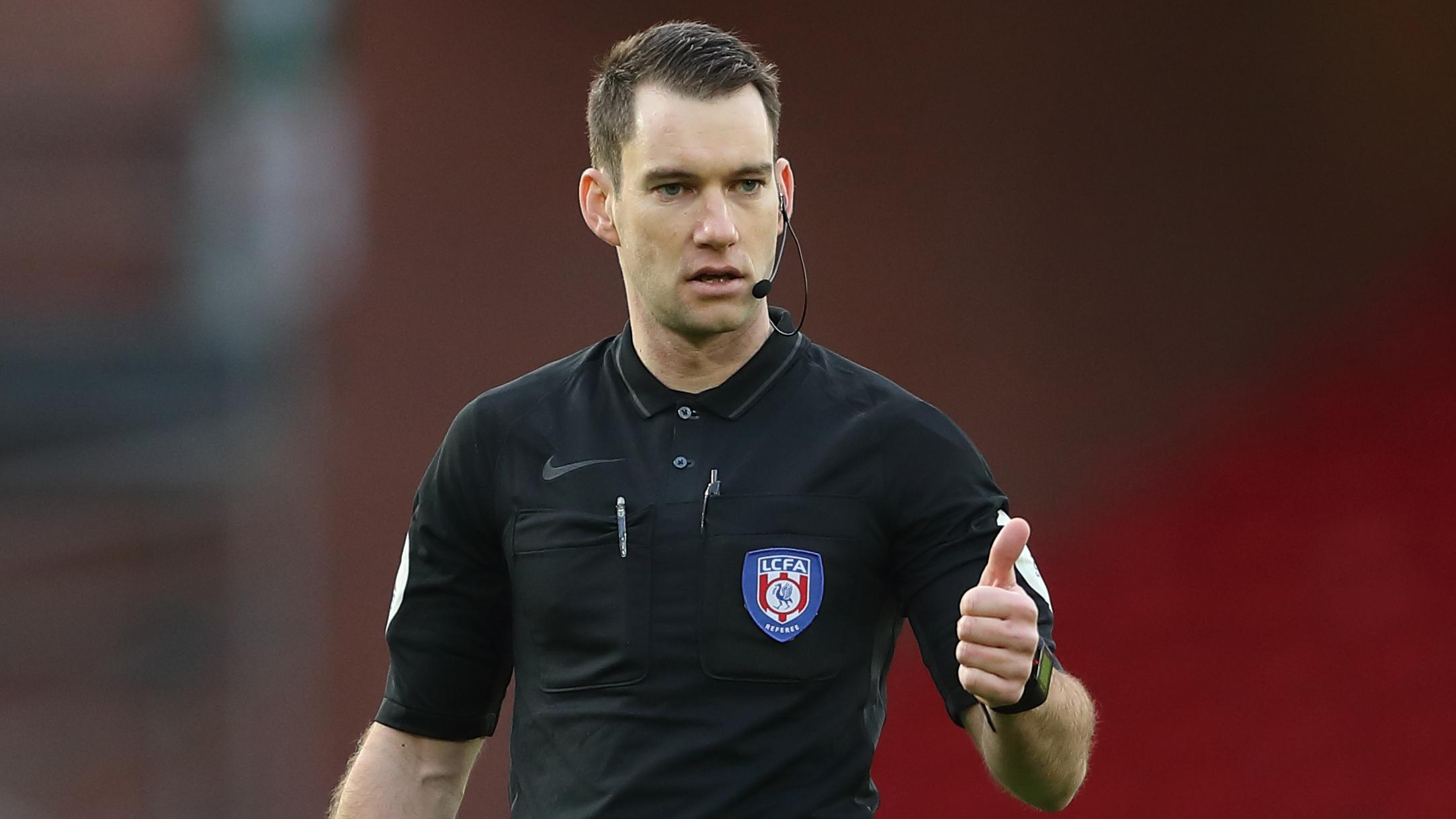 Jarred Gillett promoted to Premier League referee