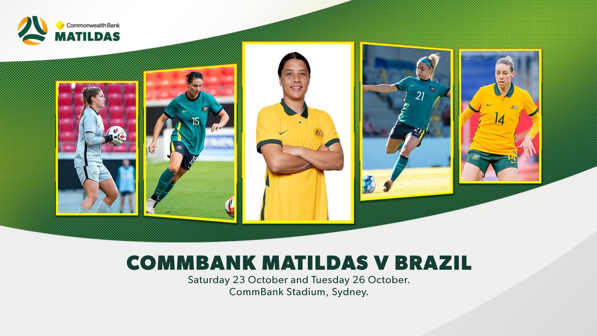 The Commonwealth Bank Matildas to headline return of major events to NSW in October
