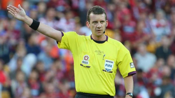 Hyundai A-League referee Peter Green