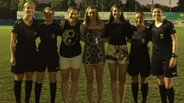 Grassroots refs learn from W-League idols