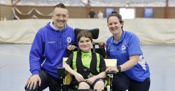 Canberra United powerchair