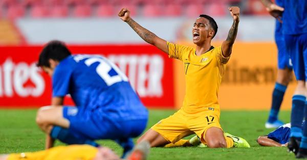 Keanu Baccus - Australia U-23's