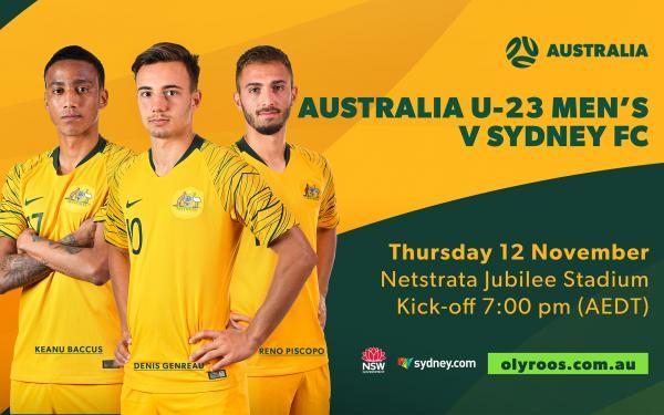 Australia U-23's Olyroos Sydney FC
