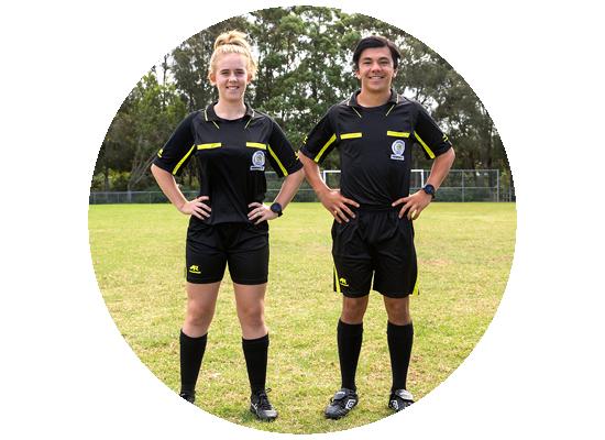 Referee - Get involved