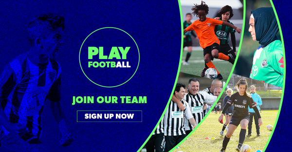Join Our Team! Play Football in 2021