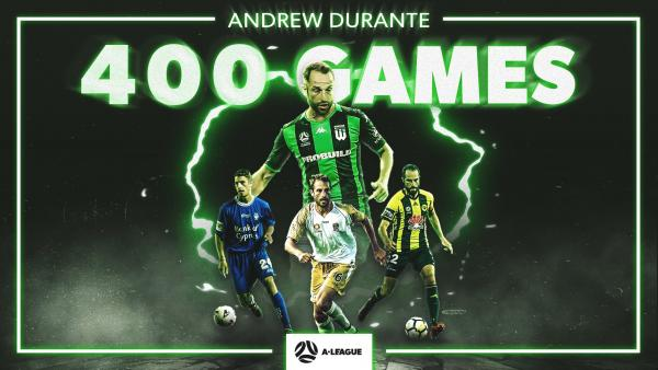 Andrew Durante joins elusive 400-game club
