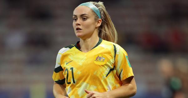 Elite Australian footballer Ellie Carpenter acknowledged as Asia's Best