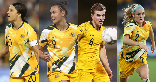Australia's Sam Kerr, Caitlin Foord, Ellie Carpenter and Riley McGree nominated for AFC awards