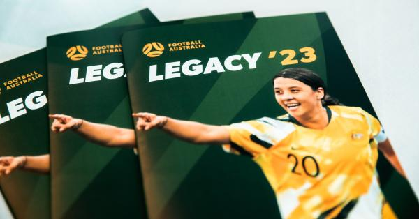Football Australia unveils ambitious FIFA Women's World Cup 2023™