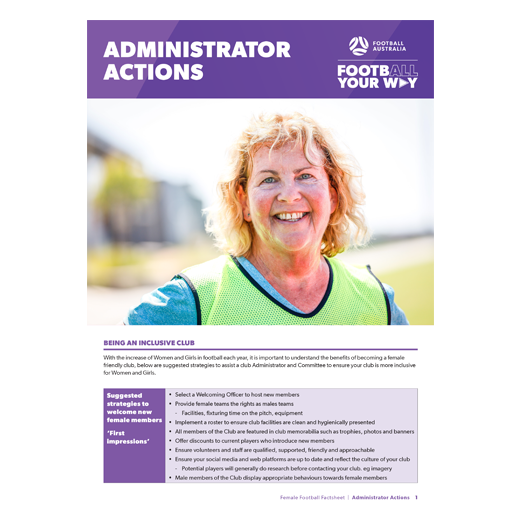 Administrator Actions