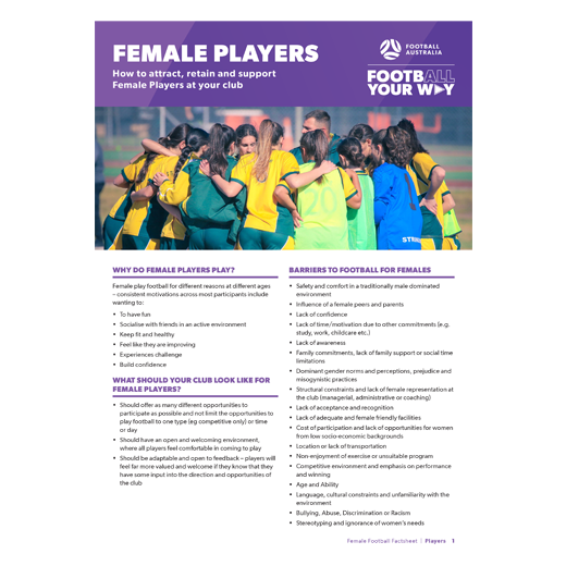 Female Players