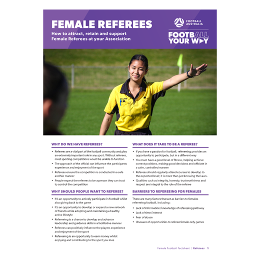 Female Referees