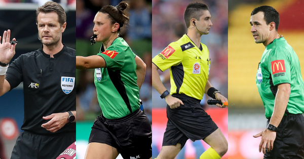 Four Australian Match Officials to join Olyroos & Matildas at Tokyo 2020