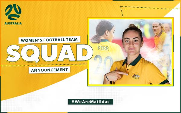 Matildas Tokyo 2020 squad announcement