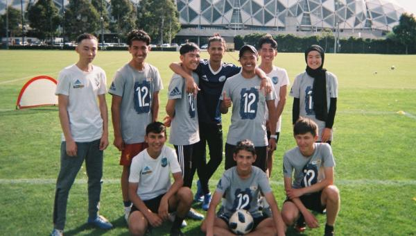 Refugee Week 2021: 'I want to play for the Matildas'